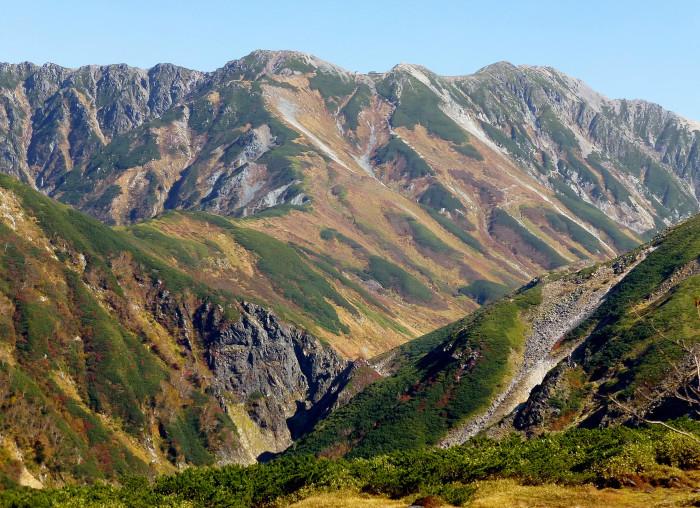 立山徘徊 紅葉を見る2・ソーメン滝~鏡石_f0374895_22423998.jpg