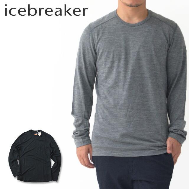 ICE BREAKER [アイスブレーカー] M 200 OASIS LS CREWE [IX20190] 200 オアシス ロングスリーブ クルー ・長袖・クルーネックMEN\'S _f0051306_13275057.jpg
