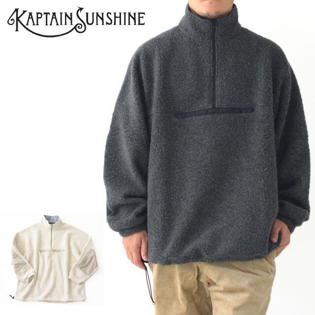 KAPTAIN SUNSHINE [キャプテンサンシャイン] Cashmere Fleece Highneck Pullover [KS20FCS01] カシミヤフリースハイネックプルオーバー_f0051306_14044661.jpg