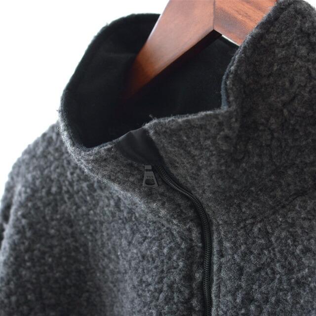 KAPTAIN SUNSHINE [キャプテンサンシャイン] Cashmere Fleece Highneck Pullover [KS20FCS01] カシミヤフリースハイネックプルオーバー_f0051306_14044704.jpg