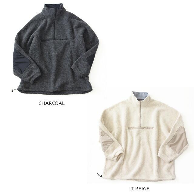 KAPTAIN SUNSHINE [キャプテンサンシャイン] Cashmere Fleece Highneck Pullover [KS20FCS01] カシミヤフリースハイネックプルオーバー_f0051306_14044763.jpg