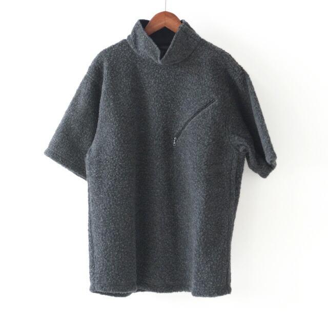 KAPTAIN SUNSHINE [キャプテンサンシャイン] Cashmere Fleece P/O Tee [KS20FCS02] カシミヤフリースプルオーバーTEE・MEN\'S _f0051306_14223533.jpg