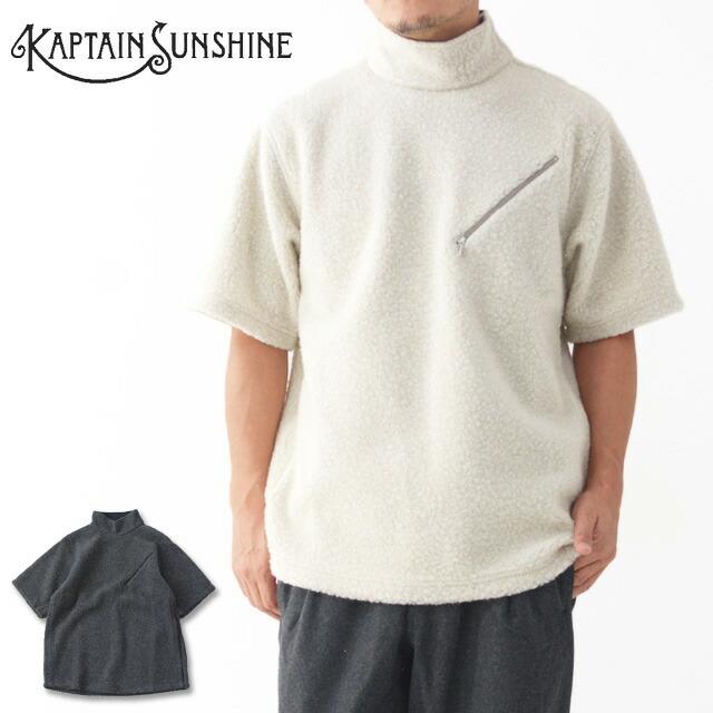 KAPTAIN SUNSHINE [キャプテンサンシャイン] Cashmere Fleece P/O Tee [KS20FCS02] カシミヤフリースプルオーバーTEE・MEN\'S _f0051306_14223591.jpg