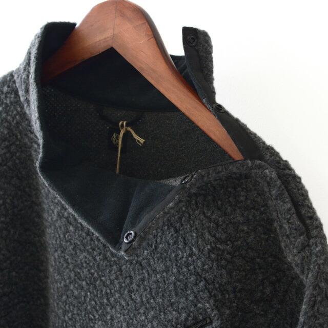 KAPTAIN SUNSHINE [キャプテンサンシャイン] Cashmere Fleece P/O Tee [KS20FCS02] カシミヤフリースプルオーバーTEE・MEN\'S _f0051306_14223608.jpg