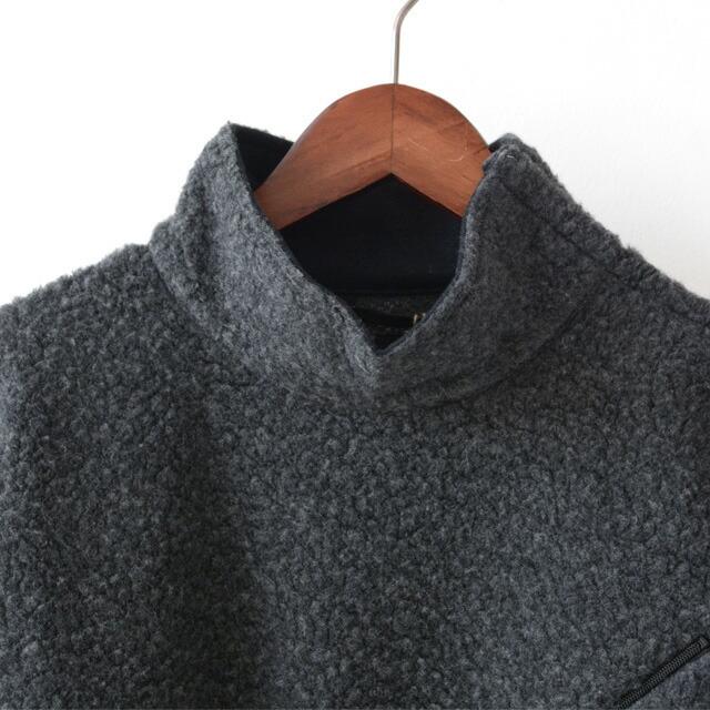 KAPTAIN SUNSHINE [キャプテンサンシャイン] Cashmere Fleece P/O Tee [KS20FCS02] カシミヤフリースプルオーバーTEE・MEN\'S _f0051306_14223609.jpg