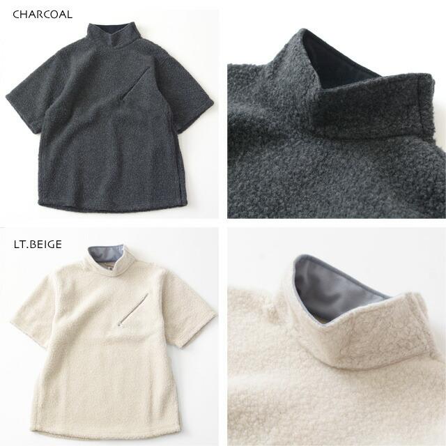 KAPTAIN SUNSHINE [キャプテンサンシャイン] Cashmere Fleece P/O Tee [KS20FCS02] カシミヤフリースプルオーバーTEE・MEN\'S _f0051306_14223627.jpg
