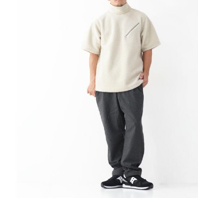 KAPTAIN SUNSHINE [キャプテンサンシャイン] Cashmere Fleece P/O Tee [KS20FCS02] カシミヤフリースプルオーバーTEE・MEN\'S _f0051306_14223637.jpg