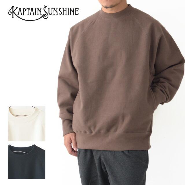 KAPTAIN SUNSHINE [キャプテンサンシャイン] Stretch Sweat Raglan Pullover [KS20FCS04] ストレッチ スウェット ・MEN\'S _f0051306_14312196.jpg