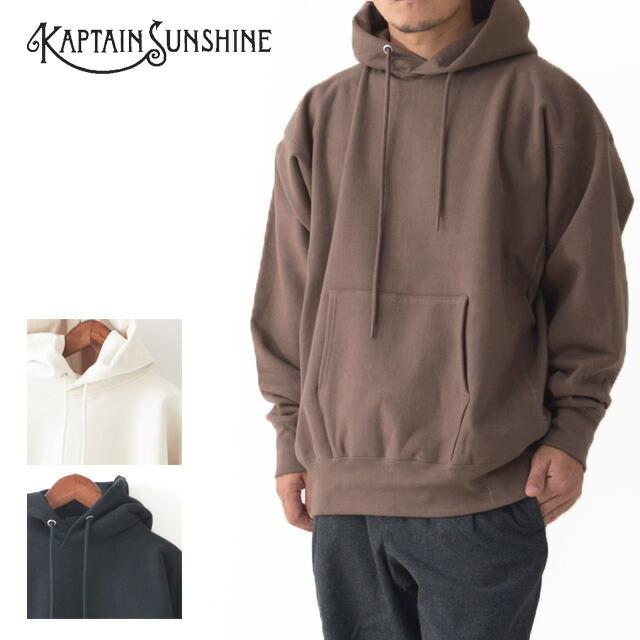 KAPTAIN SUNSHINE [キャプテンサンシャイン] Stretch Sweat Hoody [KS20FCS05] ストレッチ スウエット フーディー・パーカー・MEN\'S _f0051306_14432348.jpg