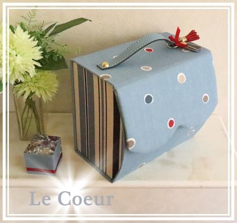 自宅レッスン作品 カーブの裁縫BOX_f0305451_21085767.jpg