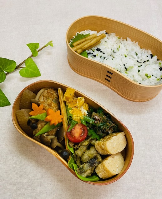 lunch box ×3 前日に準備しておくと・・・_a0165160_17023096.jpg