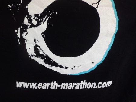 アースマラソンの寛平ちゃんTシャッで走っています。_e0096277_09182219.jpg