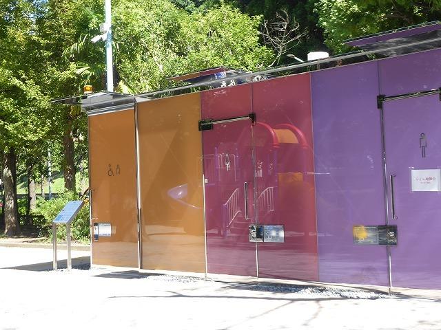 シースルーのトイレに入ってみた♪ 代々木公園ぼっち散歩&ぼっち飯♪_b0287088_17413898.jpg
