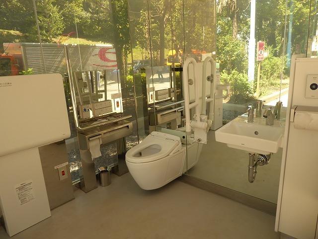シースルーのトイレに入ってみた♪ 代々木公園ぼっち散歩&ぼっち飯♪_b0287088_17424750.jpg