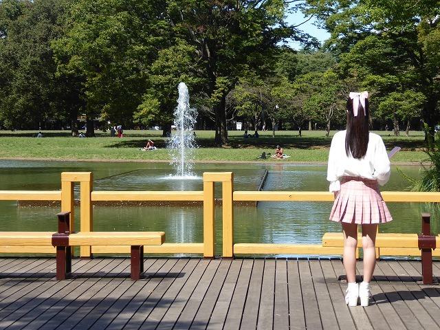 シースルーのトイレに入ってみた♪ 代々木公園ぼっち散歩&ぼっち飯♪_b0287088_17482869.jpg