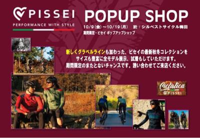 10/9(金)〜19(月)PISSEI POPUP SHOP_e0363689_07410051.jpg