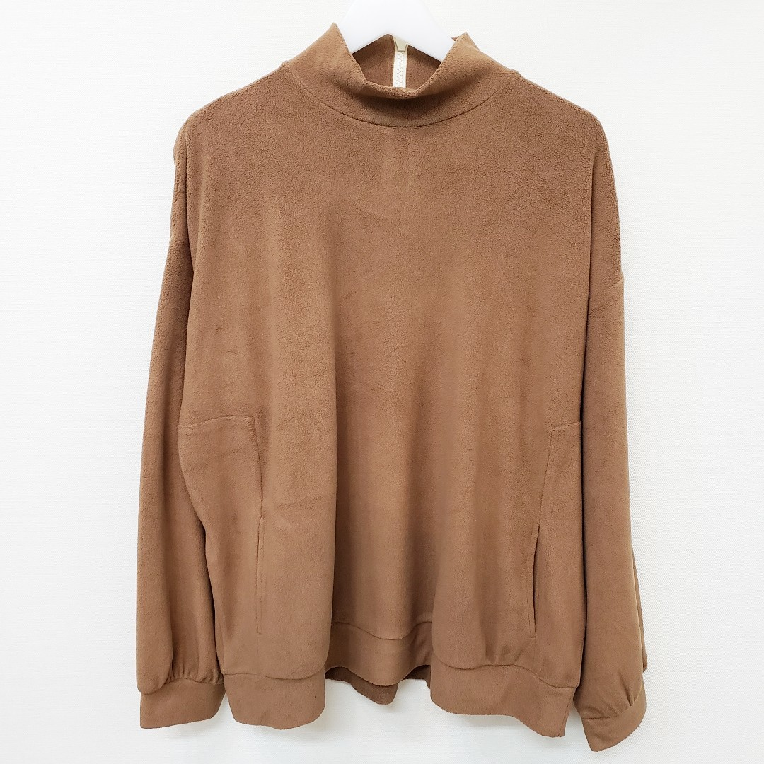 Nora Lily ノラリリー Nora Lily Mock Neck Volume Top_e0076692_17371617.jpg