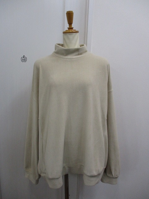 Nora Lily ノラリリー Nora Lily Mock Neck Volume Top_e0076692_17400399.jpg