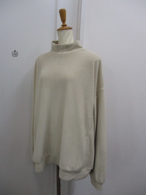 Nora Lily ノラリリー Nora Lily Mock Neck Volume Top_e0076692_17400564.jpg