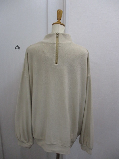 Nora Lily ノラリリー Nora Lily Mock Neck Volume Top_e0076692_17400700.jpg