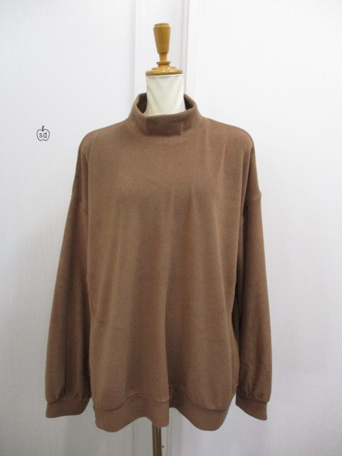 Nora Lily ノラリリー Nora Lily Mock Neck Volume Top_e0076692_17405150.jpg