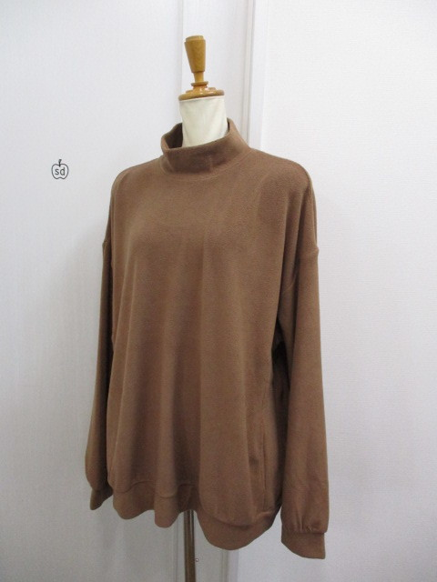 Nora Lily ノラリリー Nora Lily Mock Neck Volume Top_e0076692_17405336.jpg
