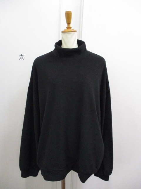 Nora Lily ノラリリー Nora Lily Mock Neck Volume Top_e0076692_17414452.jpg