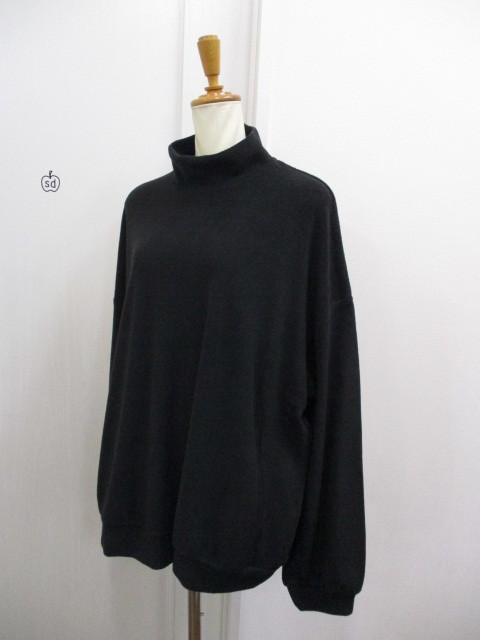 Nora Lily ノラリリー Nora Lily Mock Neck Volume Top_e0076692_17414618.jpg
