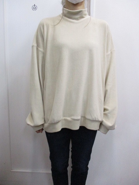 Nora Lily ノラリリー Nora Lily Mock Neck Volume Top_e0076692_17453710.jpg