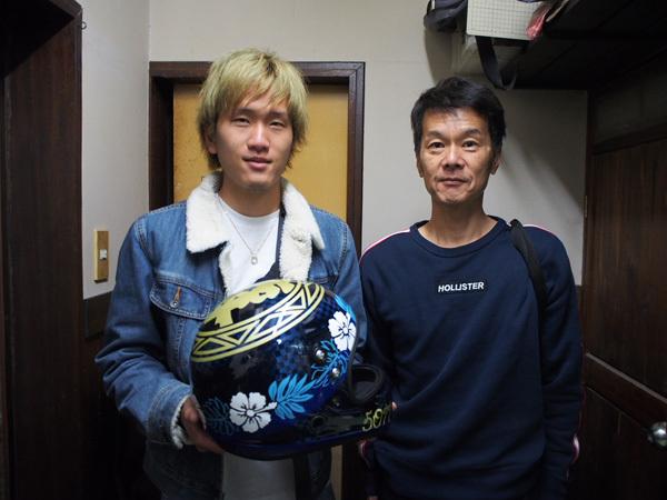 W滝沢選手ご来店!_f0320808_00413362.jpg