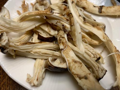 松茸を食す_d0025421_22291624.jpg