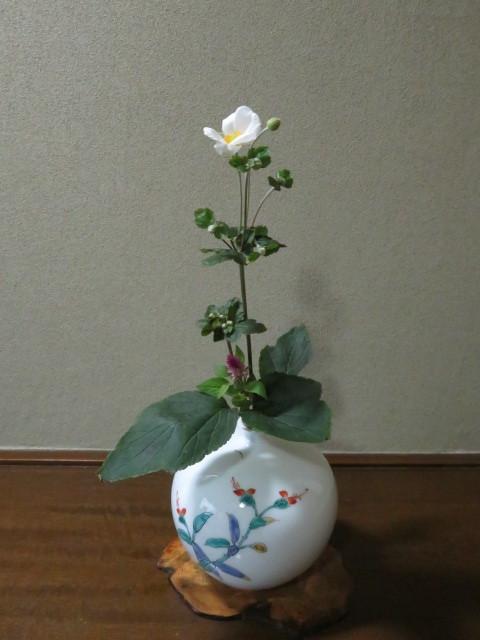 名の如く、秋の花・秋明菊_f0329849_22481015.jpg