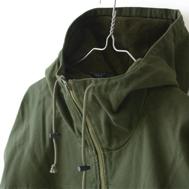KAVU [カブー] Hooded Buffalo Jacket [19821306] フーデッド バッファロー ジャケット・ブルゾン・フリースMEN\'S_f0051306_17335405.jpg