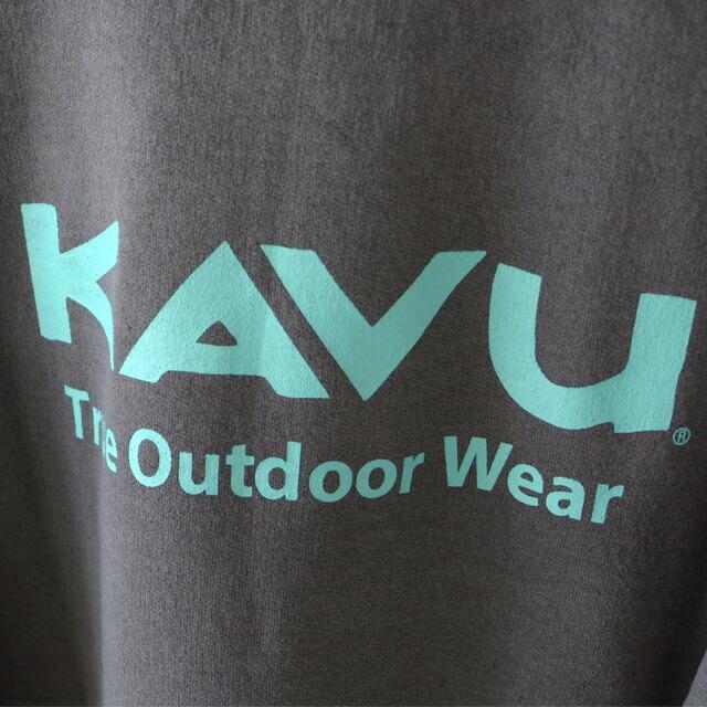 KAVU [カブー] TOW SWEAT [19821314] カブーザアウトドアウェア スウェット・長袖スエットTシャツ・MEN\'S_f0051306_17385211.jpg