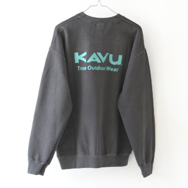KAVU [カブー] TOW SWEAT [19821314] カブーザアウトドアウェア スウェット・長袖スエットTシャツ・MEN\'S_f0051306_17385223.jpg