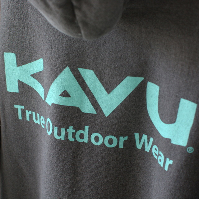 KAVU [カブー] TOW PARKA [19821316] カブー パーカー・スエット・長袖パーカー・フィードパーカー・後染め・MEN\'S_f0051306_17433456.jpg