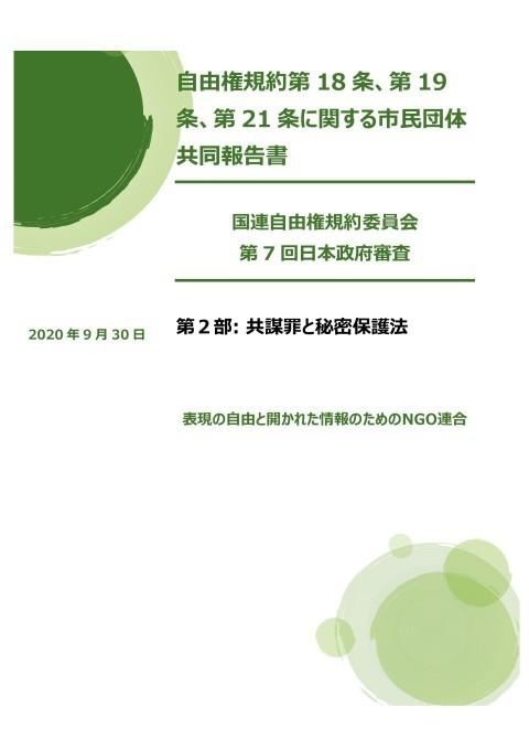 国連自由権規約委員会にNGO共同レポート提出_c0241022_00175848.jpg