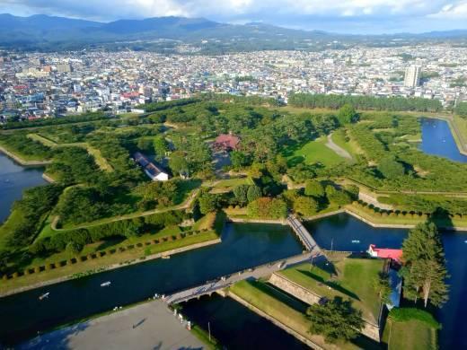 函館旅行記(3)大沼へ、五稜郭へ_c0218425_22251812.jpg