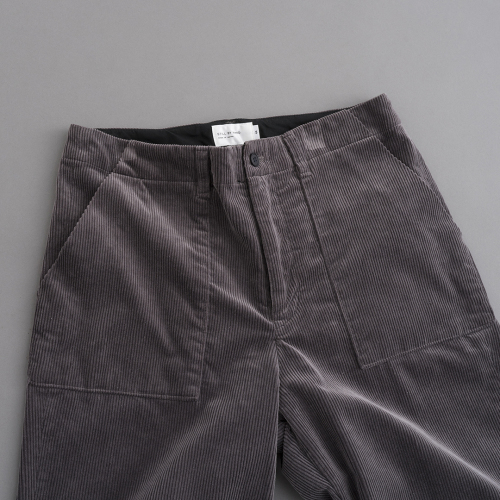 STILL BY HAND Corduroy Pants (Smoke Grey)_d0120442_12431618.jpg