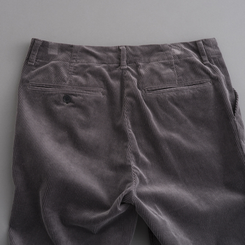 STILL BY HAND Corduroy Pants (Smoke Grey)_d0120442_12431923.jpg