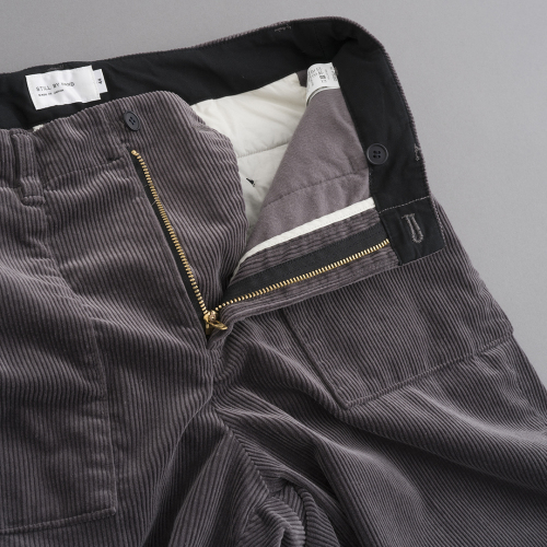 STILL BY HAND Corduroy Pants (Smoke Grey)_d0120442_12434891.jpg