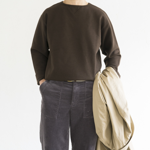 STILL BY HAND Corduroy Pants (Smoke Grey)_d0120442_12445950.jpg