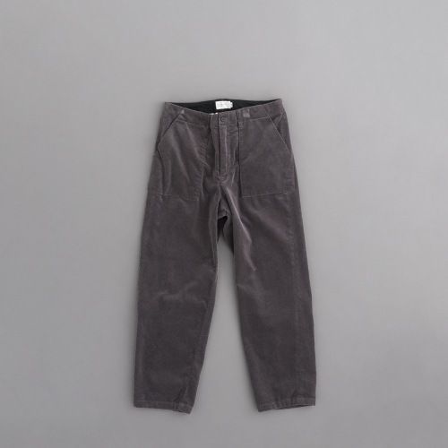 STILL BY HAND Corduroy Pants (Smoke Grey)_d0120442_13123465.jpg