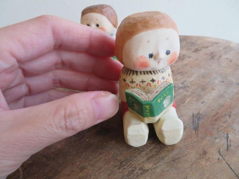 表情が一つ一つ違って、みんな可愛い!ハニカミヤさんの人形、ニッコリ笑顔で和む_f0129557_19491527.jpeg
