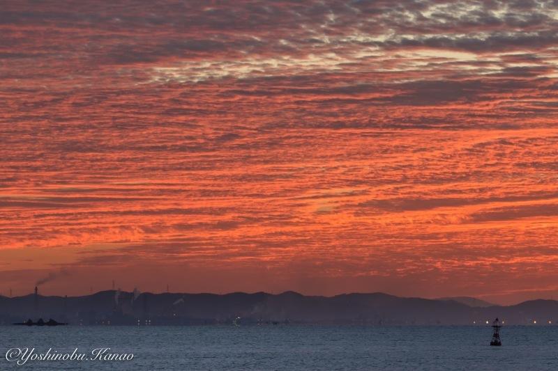 神島水落のだるま朝日_b0222467_23134480.jpg
