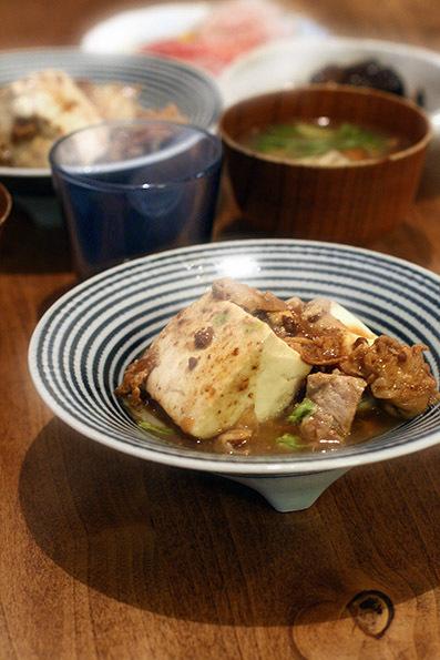 ほかほか肉豆腐と鮎の甘露煮_e0137277_01040951.jpg