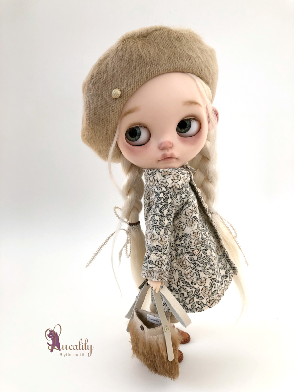 *lucalily * dolls clothes* Flower pattern coat set *_d0217189_10274501.jpeg