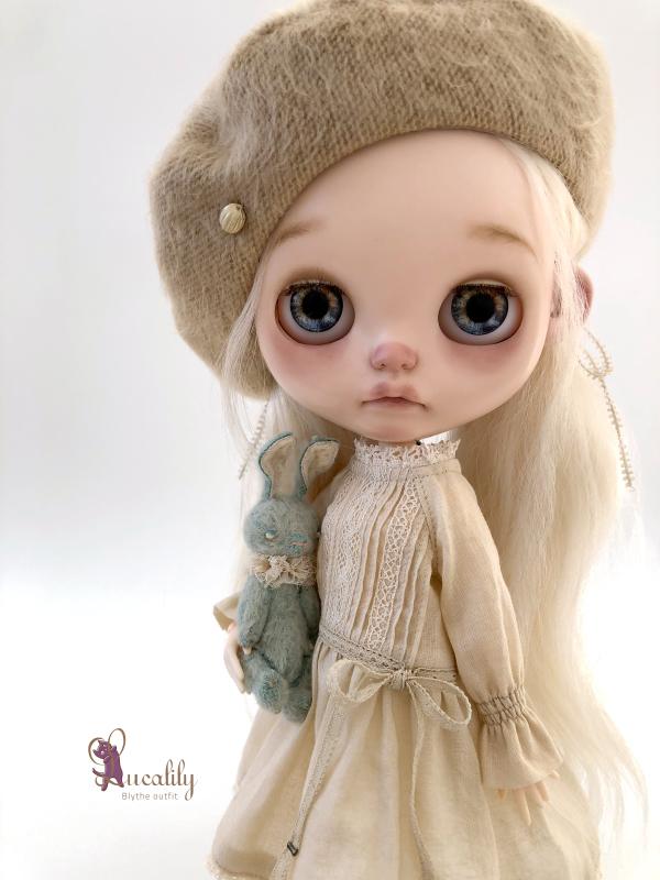 *lucalily * dolls clothes* Flower pattern coat set *_d0217189_10275376.jpeg