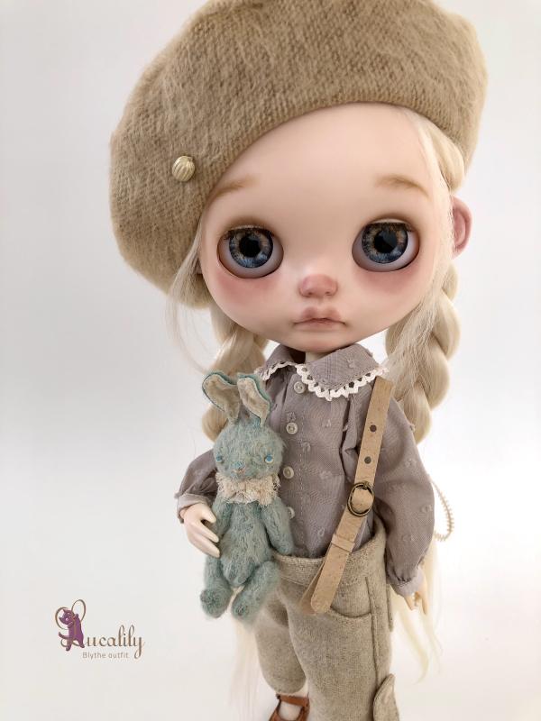 *lucalily * dolls clothes* Flower pattern coat set *_d0217189_10280637.jpeg