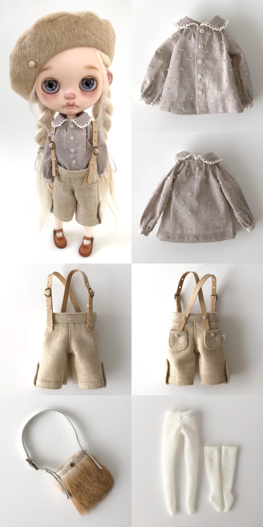 *lucalily * dolls clothes* Flower pattern coat set *_d0217189_10282218.jpeg